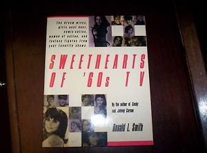 SWEETHEARTS OF 60'S TV 1989 TRIBUTE BOOK TO HEROINES OF POP CULTURE