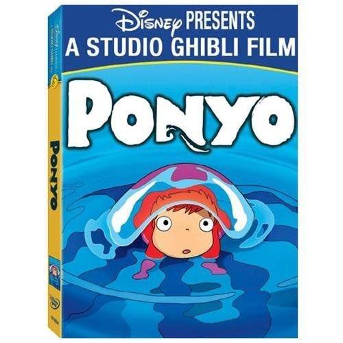 Disney, Studio Ghibli Ponyo (DVD, 2010, 2-Disc Set) Animie