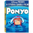 Disney, Studio Ghibli Ponyo (DVD, 2010, 2-Disc Set) Animie