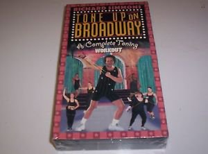 RICHARD SIMMONS TONE UP ON BROADWAY VHS TAPE EXERCISE TONE UP NEW STILL SEALED