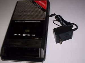 Vintage General Electric GE Cassette Tape Recorder & Player 3-5015/16 Excellent
