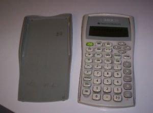 TI-30XIIB Scientific Calculator--WORKS GREAT Super condition Batteries included