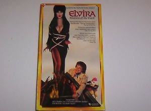 Elvira :  Mistress of the Dark (VHS) 1990 - VERY GOOD CONDITION  Horror Comedy