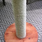 Custom made cat scratching post with your cat's name - 24 inch