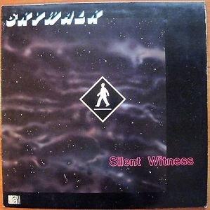 Skywalk �� Silent Witness Record LP Jazz  ZR 5004 EX/EX