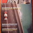 1984 JUNE GRAND PRIX INTERNATIONAL MAGAZINE #82 F1 PROST INDY MONACO