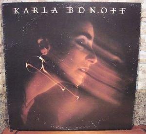 KARLA BONOFF - SELF TITLED - COLUMBIA RECORDS LP NM/VG+