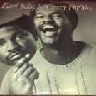 EARL KLUGH CRAZY FOR YOU LP 1981 LIBERTY RECORDS LT-51113 VG+EX