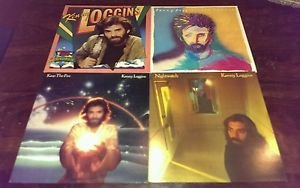 4 X  KENNY LOGGINS LPs KEEP THE FIRE - Nightwatch - High Adventure - VOX HUMANA