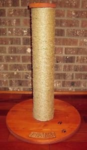 CAT SCRATCHING POST WITH YOUR CATS NAME - 24 inch X 4 1/2inch FREE SHIPPING!