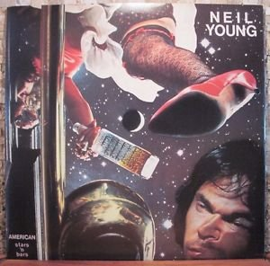 Neil Young - American Stars N' Bars - Reprise 1977  EX/VG UK Pressing K 54088