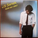 J.D. SOUTHER - YOU'RE THE LONELY - COLUMBIA 1979 -  G FREY VINYL LP RECORD NM/EX