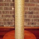 CAT SCRATCHING POST WITH YOUR CATS NAME - 18 inch X 4 1/2inch FREE SHIPPING!