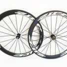 Ultra Light carbon wheels 50mm clincher carbon bike road/track wheelset 700C
