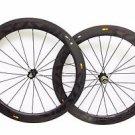 ultralight Carbon 60mm wheels clincher 700C full carbon road/track bike wheelset