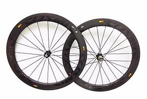 ultralight Carbon 60mm wheels clincher 700C full carbon road/track bike wheelset