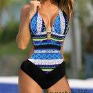 Sexy Bohemia One Piece Swimsuit Swimwear women monokini plus size bathing suit