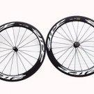Carbon 60mm wheels clincher 700C full carbon fiber road/track bike wheelset