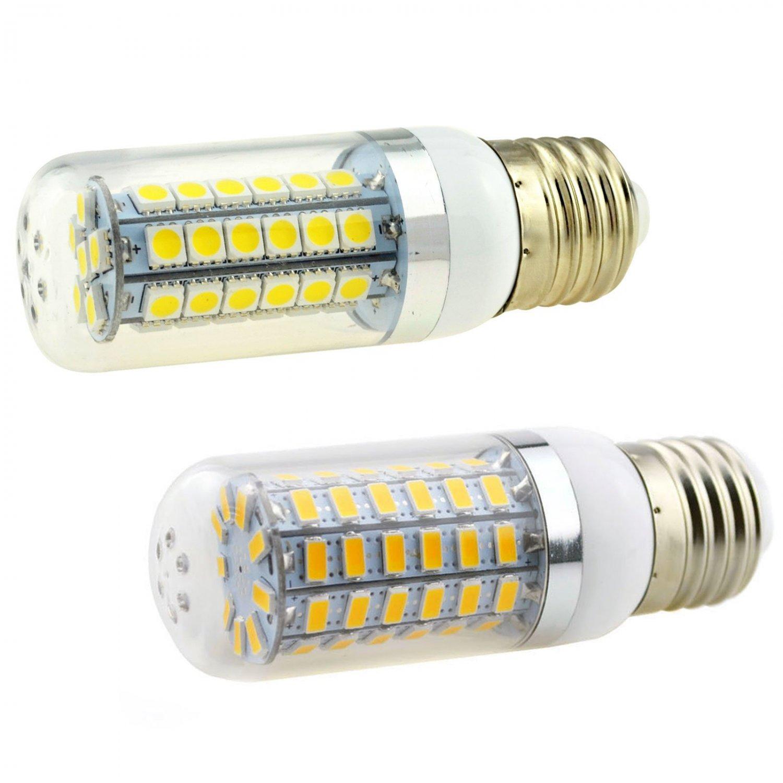5W - 15W E12/E14/E27/E26/B22/G9/GU10 LED Corn Bulb 5050 5730 SMD Lamp 110V/220V