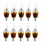 10x E12 Candelabra 110V 5W 10W 15W Dimmable High Power LED Chandelier Light Bulb