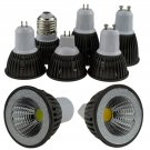 Dimmable LED COB Spotlight E26 E27 GU10 GU5.3 MR16 6W 9W Bulb Lamp 110V 220V 12V