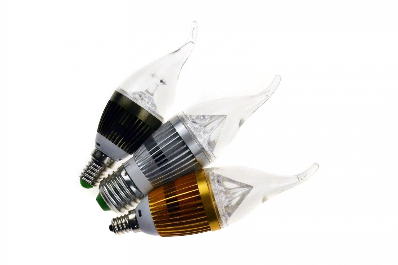 Dimmable E26 E27 E14 E12 LED Flame Candle Light Bulb candelabra warm cool white