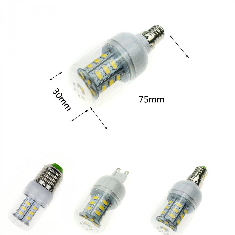 5730/5050/3528 SMD Dimmable LED E27/E26 E14 E12 G9 GU10 Corn Light Bulb Lamp