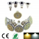 LED Spotlights Dimmable E14 E27 E26 GU10 MR16 SMD 3528/5050 Bulb Lamps Lights