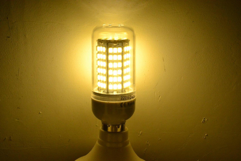 E12 3/5/9/12/18/20/22W LED Corn Light Bulb Lamp Warm Cool White 2835 SMD Bulbs