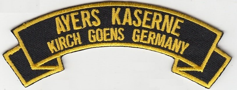 Ayers Kaserne (Kirch-Gons,Germany)