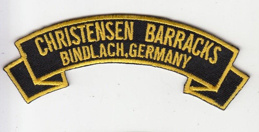 Christensen Barracks ( Bindlach)