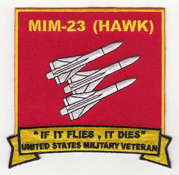 HAWK Missile Systems Alumni patch