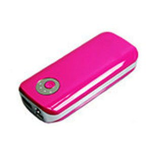 Pink Portable Power Bank