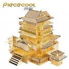 Piececool 3D Metal Puzzle Tengwang Pavilion Building Kits P067G DIY 3D Laser Cut Models Toys
