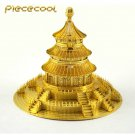 Piececool 3D Metal Puzzle Temple of Heaven Building P017G DIY 3D Laser Cut Models Toys For Audit