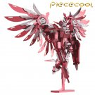 Limited Edition Piececool 3D Metal Puzzle Thundering Wings Gundam P069RS DIY 3D Laser Cut Toys