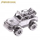 Piececool 3D Metal Puzzle SUV Off-Road Vehicle Car Model Kit P078 DIY Laser Cut Jigsaw Toys