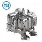 MU 3D Metal Puzzle Starcraft 2 Terran Barracks Model Kits DIY 3D Laser Cut Jigsaw Toys For Audit