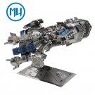MU 3D Metal Puzzle Starcraft 2 Battle Cruiser Model Kits DIY 3D Laser Cut Jigsaw Toys