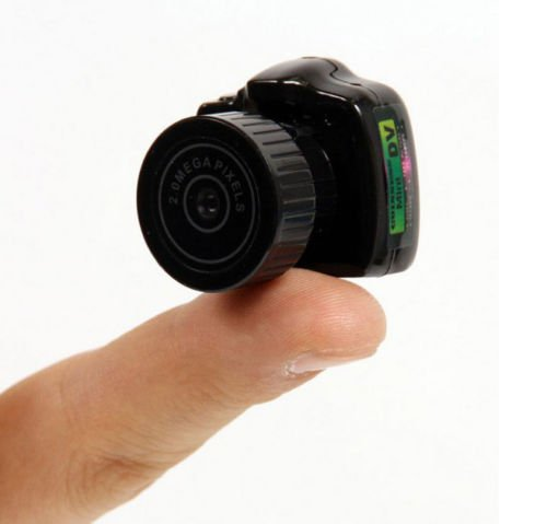 Smallest Video Recorder DVR Security Camera Spy Hidden Pinhole Camcorder Web cam