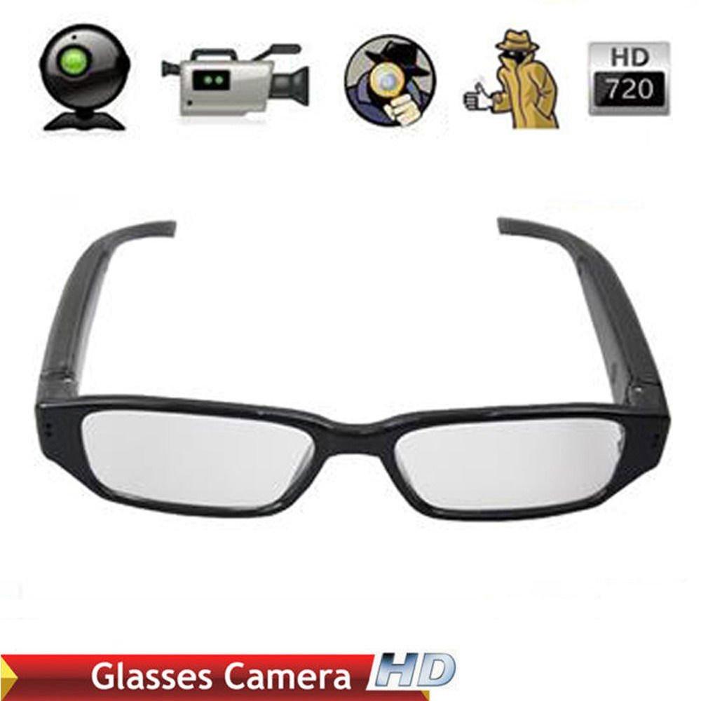 Mini HD 720P Glasses Hidden Eyewear Spy Camera Security Cam DVR Video Recorder