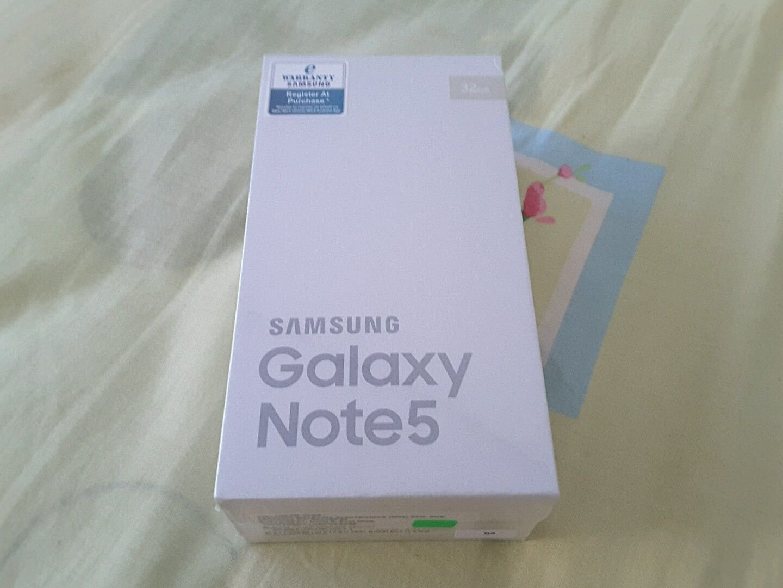 Samsung Galaxy Note 5 SM-N9208 Dual SIM 32GB 5.7-Inch 4G LTE Unlocked GOLD