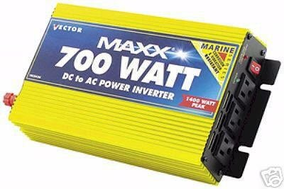 700/1400 Watt Marine Inverter Heavy Duty