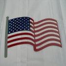 American Flag Metal Art
