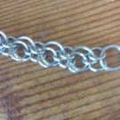Handmade Stainless Steel Eclipse Chainmail Bracelet
