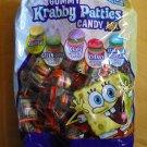 90 Count Spongebob Squarepants Gummy Krabby Patties Candy Mix BRAND NEW