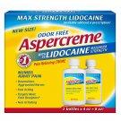 Aspercreme with Lidocaine, 2 pk./4 oz
