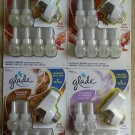Glade Air Freshener PlugIns Scented Oils 6 Refills + Warmer NEW