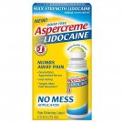 Aspercreme Lidocaine with No Mess Applicator - 2.5oz BRAND NEW