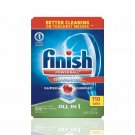 Finish Powerball Advanced Dishwasher Detergent, 110 ct. NEW